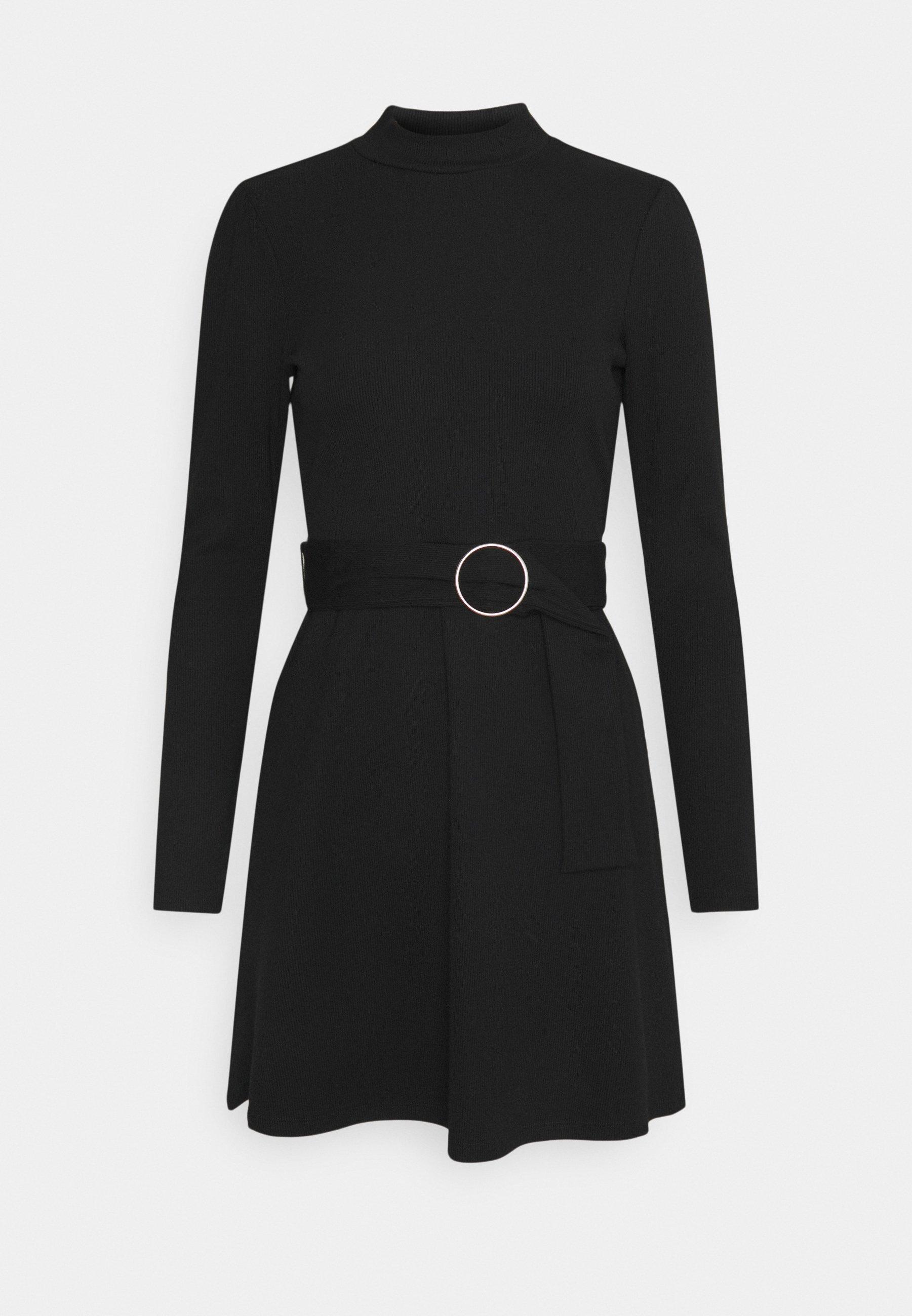 Women GIA BELTED MINI DRESS - Jumper dress