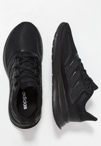 adidas Performance - RUNFALCON UNISEX - Neutral running shoes - core black - 0