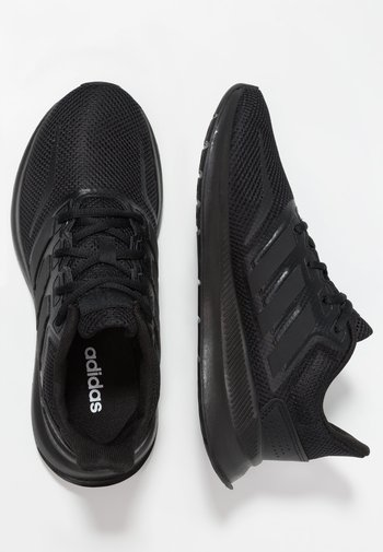 RUNFALCON UNISEX - Neutral running shoes - core black