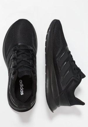 RUNFALCON - Chaussures de running neutres - core black
