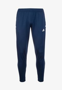 adidas Performance - TEAM 19  - Tracksuit bottoms - navy blue/white - 0