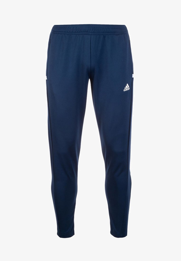 adidas Performance - TEAM 19  - Tracksuit bottoms - navy blue/white