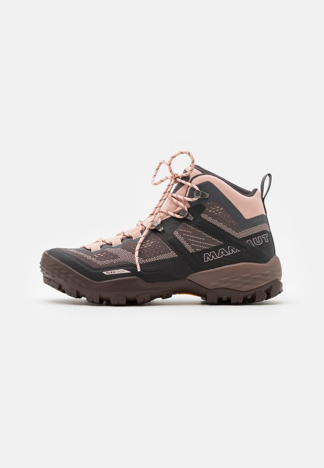 DUCAN MID GTX WOMEN - Hiking shoes - dark titanium/evening sand