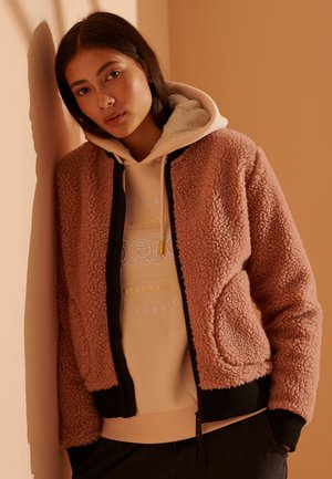 STORM EASY  - Bomber Jacket - dark peach