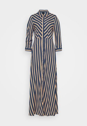 YASSAVANNA STRIPE LONG DRESS - Maxikjoler - ensign blue