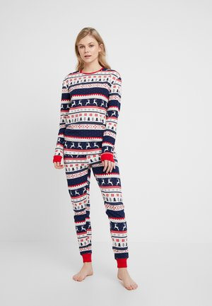 SET - Pyjama set - black/red