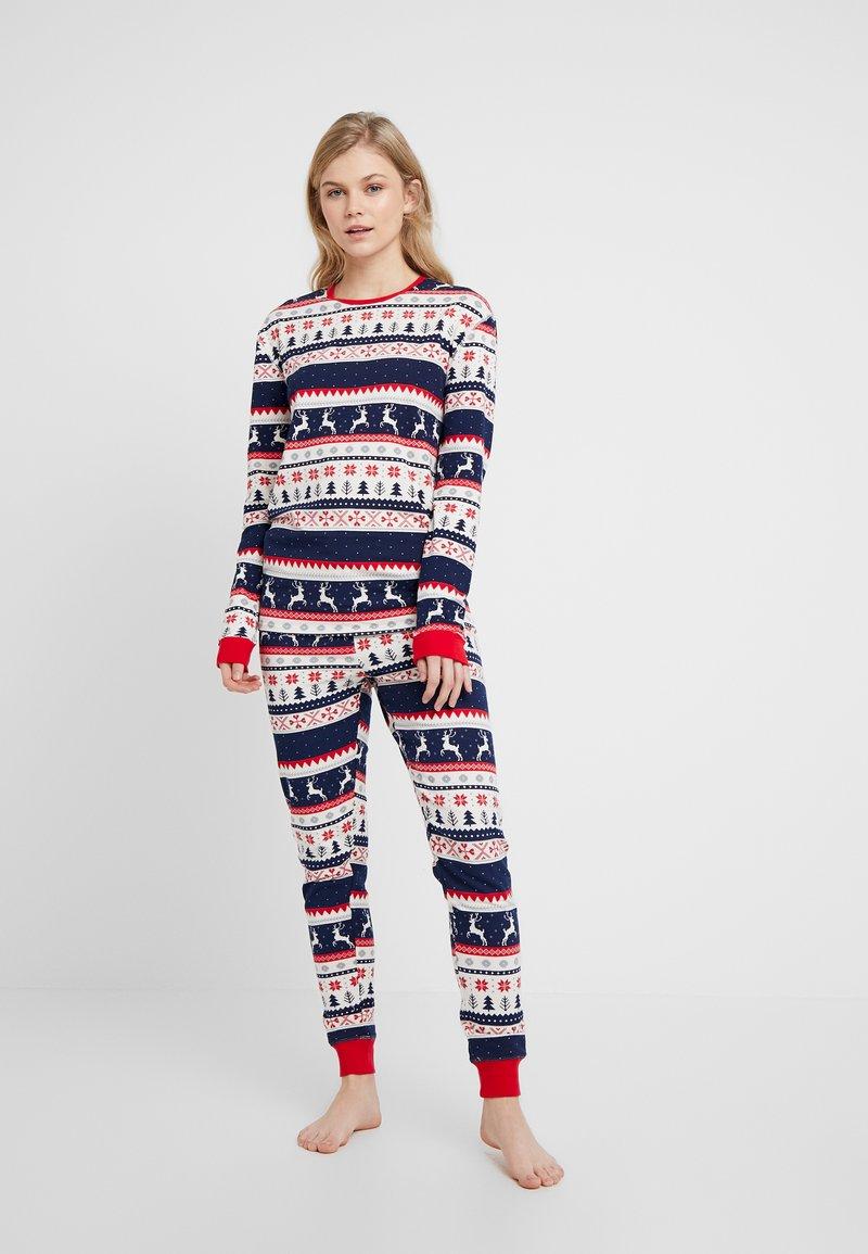 Cotton On Body - SET - Pyžamová sada - black/red