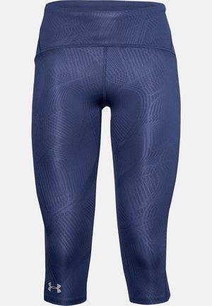 FLY FAST SPEED CAPRI - Leggings - blue ink