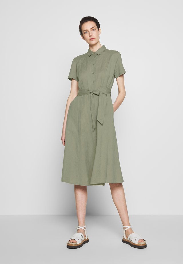 FISHER - Shirt dress - moon dust