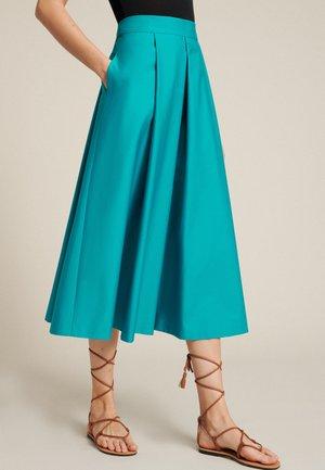 Áčková sukně - turchese