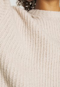 Even&Odd - Strikpullover /Striktrøjer - light tan - 4