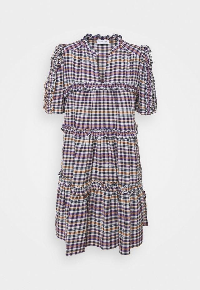 JENNA - Korte jurk - violet