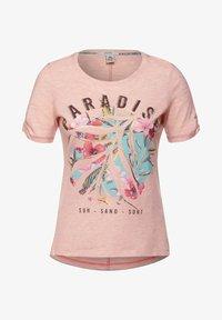 Cecil - Print T-shirt - rosa - 3