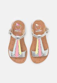 Shoo Pom - HAPPY TIE - Sandals - silver/multi fluo - 3