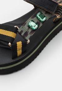 Kurt Geiger London - OLIVIA - Platform sandals - khaki - 4