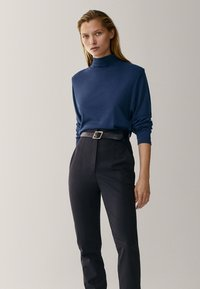 Massimo Dutti - Long sleeved top - blue - 0