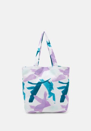 PRINT UNISEX - Tote bag - multicoloured/blue/purple