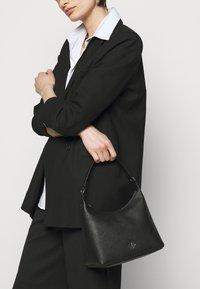 DKNY - CAROL POUCHETTE - Handbag - black/silver-coloured - 2