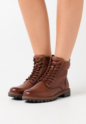 BOOTS - Ankle boot - brandy