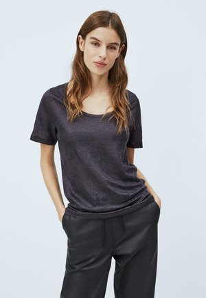 FABIA - T-shirt basic - black