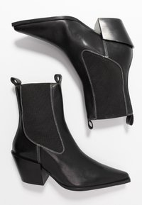 Topshop - MYSTERY WESTERN BOOT - Santiags - black - 3