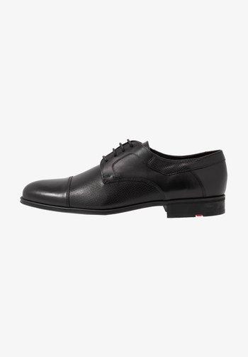 LEX - Smart lace-ups - schwarz