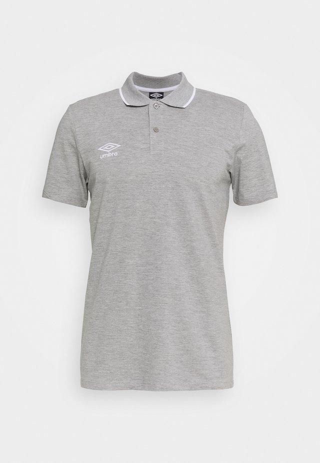 Poloshirts - grey marl