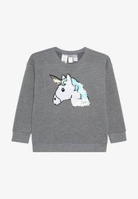OshKosh - KIDS DROP SHOULDER - Sweatshirt - grey heather - 2