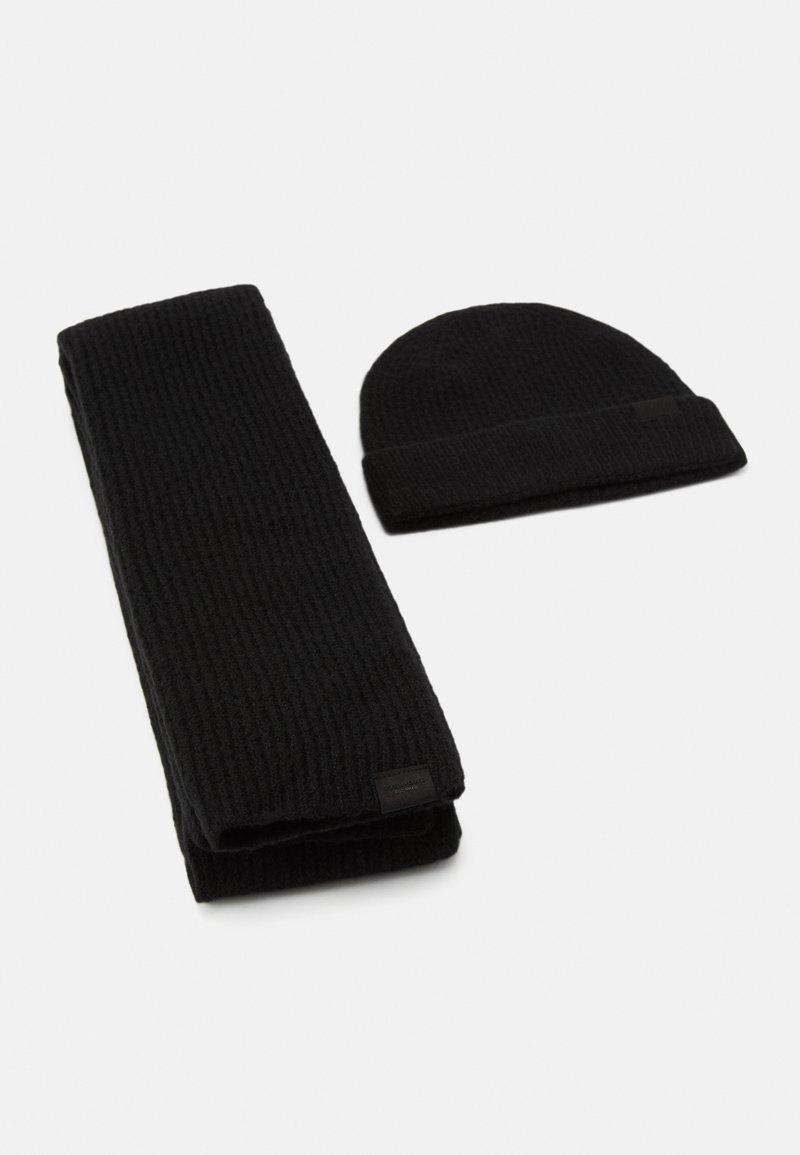 Pier One - SET - Scarf - black