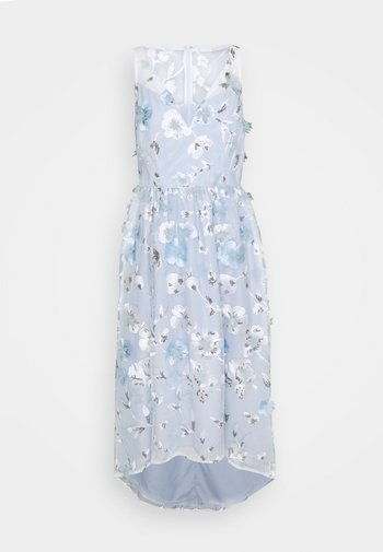 FLORAL EMBROIDERED GOWN - Iltapuku - clearwater/ivory