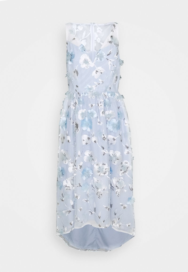 Adrianna Papell - FLORAL EMBROIDERED GOWN - Occasion wear - clearwater/ivory