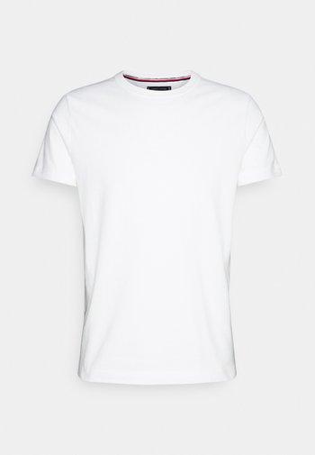 TEE - T-shirt - bas - ecru