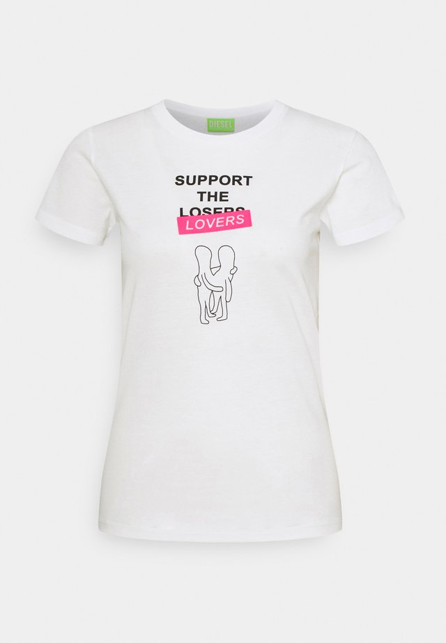 T-SOAL-R1 MAGLIETTA - T-shirt imprimé - off white