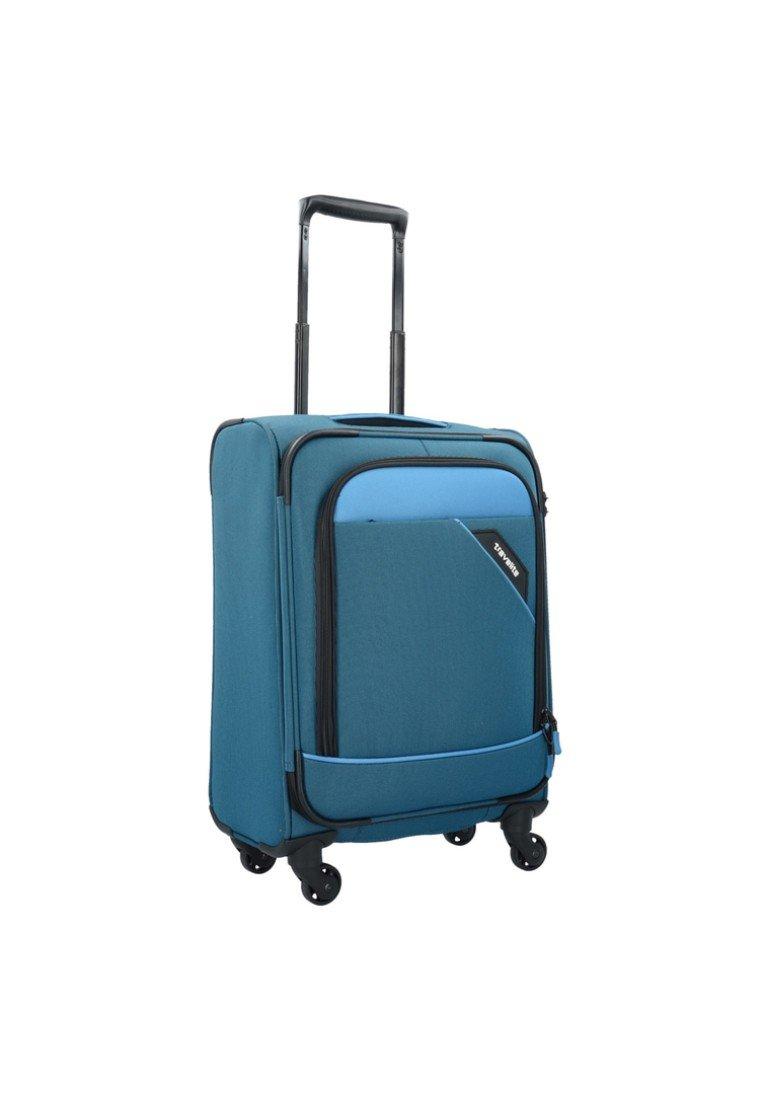 Travelite DERBY ROLLEN - Trolley - blue/blau - Herrentaschen A0YQl