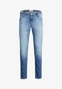 Jack & Jones - CLARK ORIGINAL - Jeans Straight Leg - blue denim - 5
