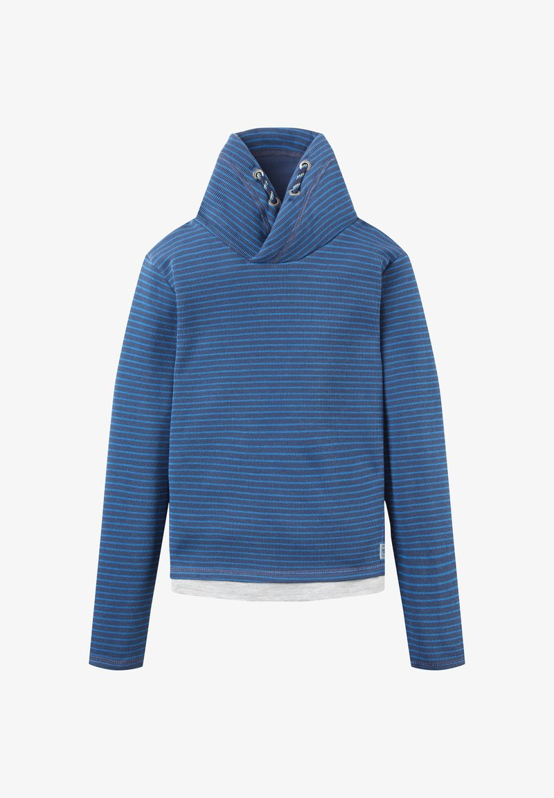 TOM TAILOR - Sweater - blue