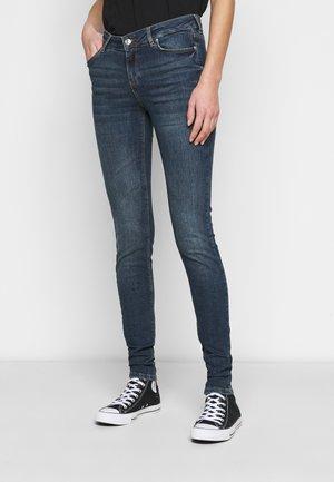 VMLYDIA - Skinny džíny - dark blue denim