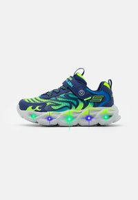Skechers - THERMO FLASH - Trainers - navy/lime/blue - 0