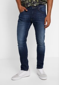 Lee - LUKE - Jeansy Slim Fit - DARK DIAMOND - 0