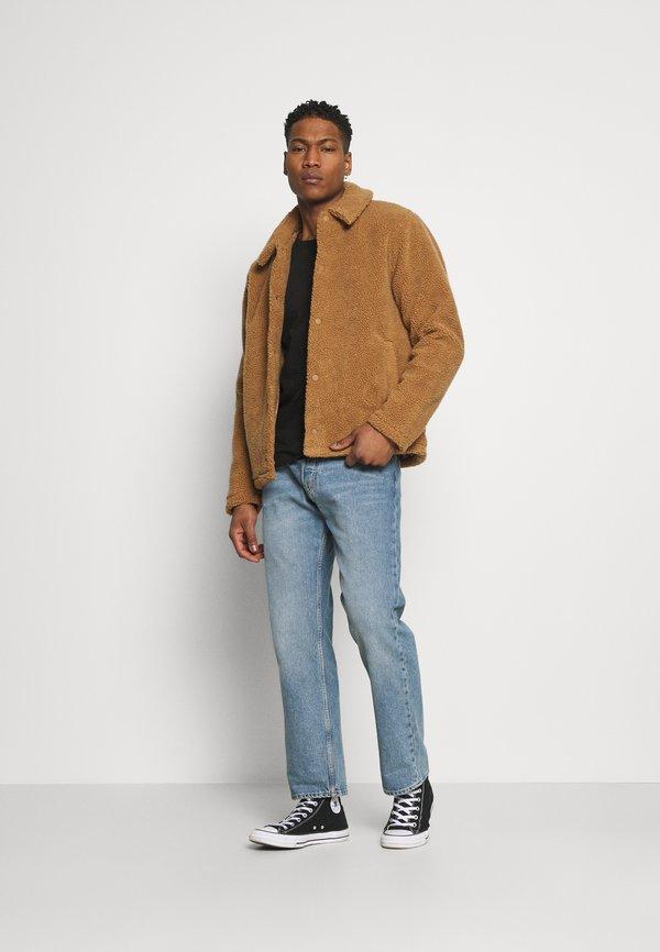 Cotton On LONG SLEEVE 2 PACK - Bluzka z długim rękawem - black/grey marle/czarny Odzież Męska LIBM