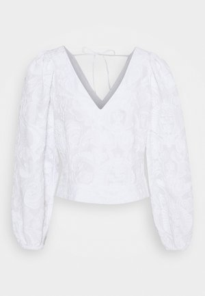 ANAI BLOUSE - Blůza - bright white