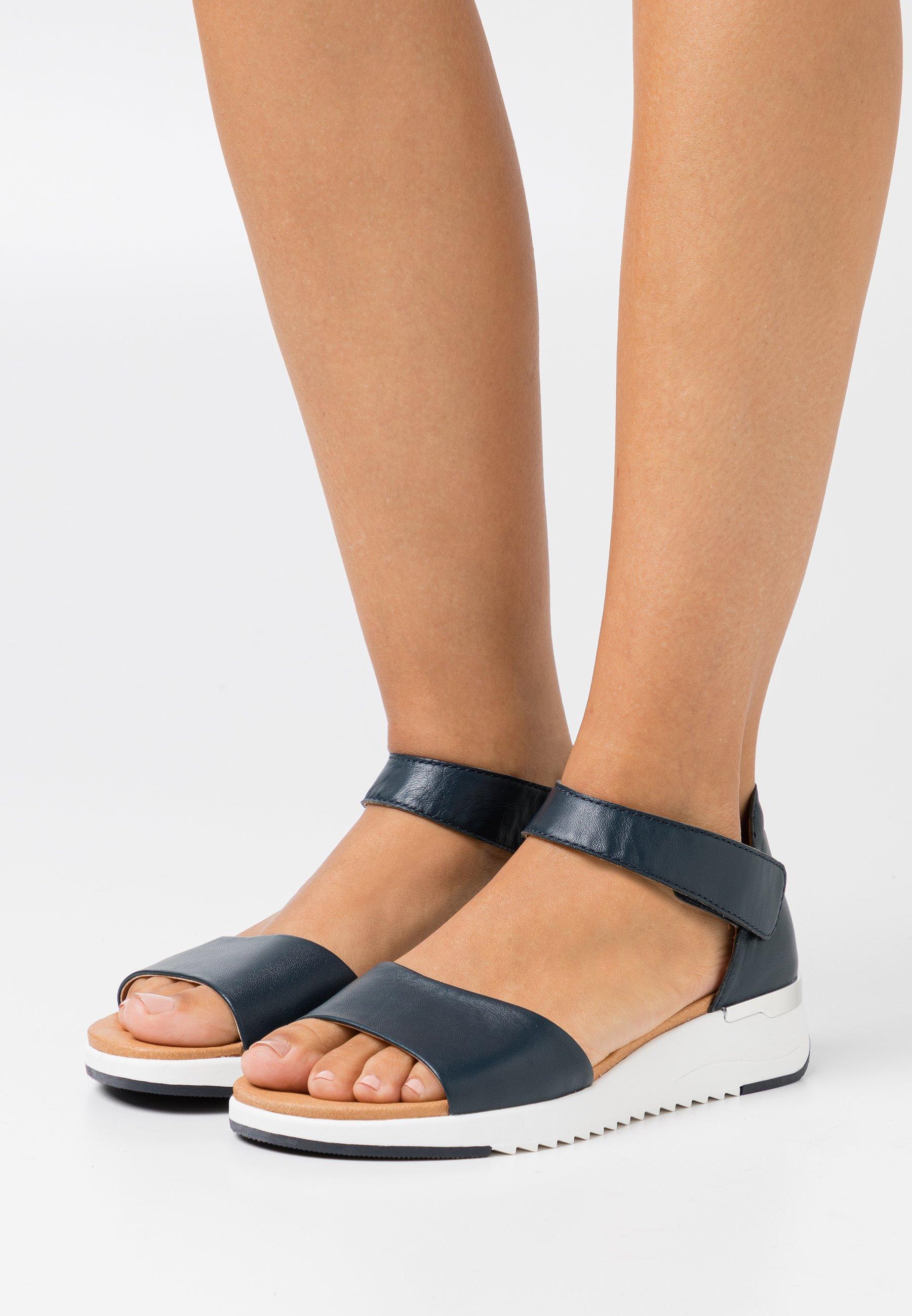 Women Wedge sandals - ocean