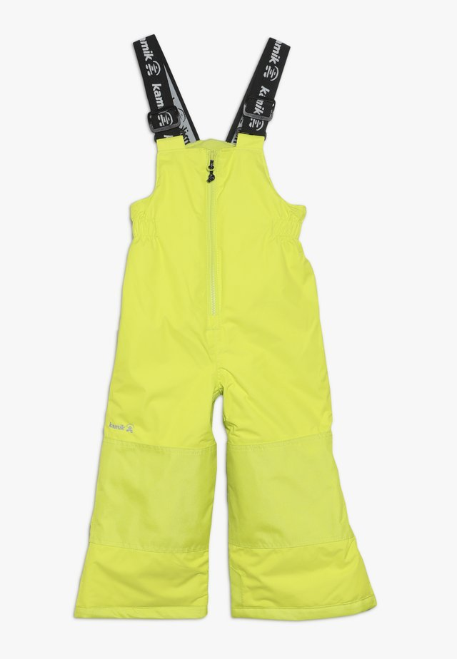WINKIESOLD - Snow pants - neon yellow