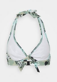 Esprit - HERA BEACH FLEXIWIRE - Bikini top - khaki - 1
