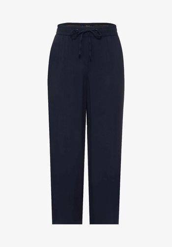 Trousers - deep blue