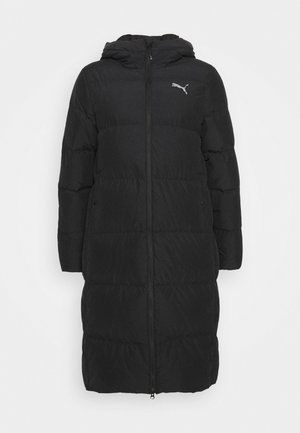 LONG OVERSIZED COAT - Dunfrakker - black
