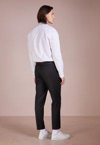 Filippa K - TERRY CROPPED PANTS - Kalhoty - anthracite - 2