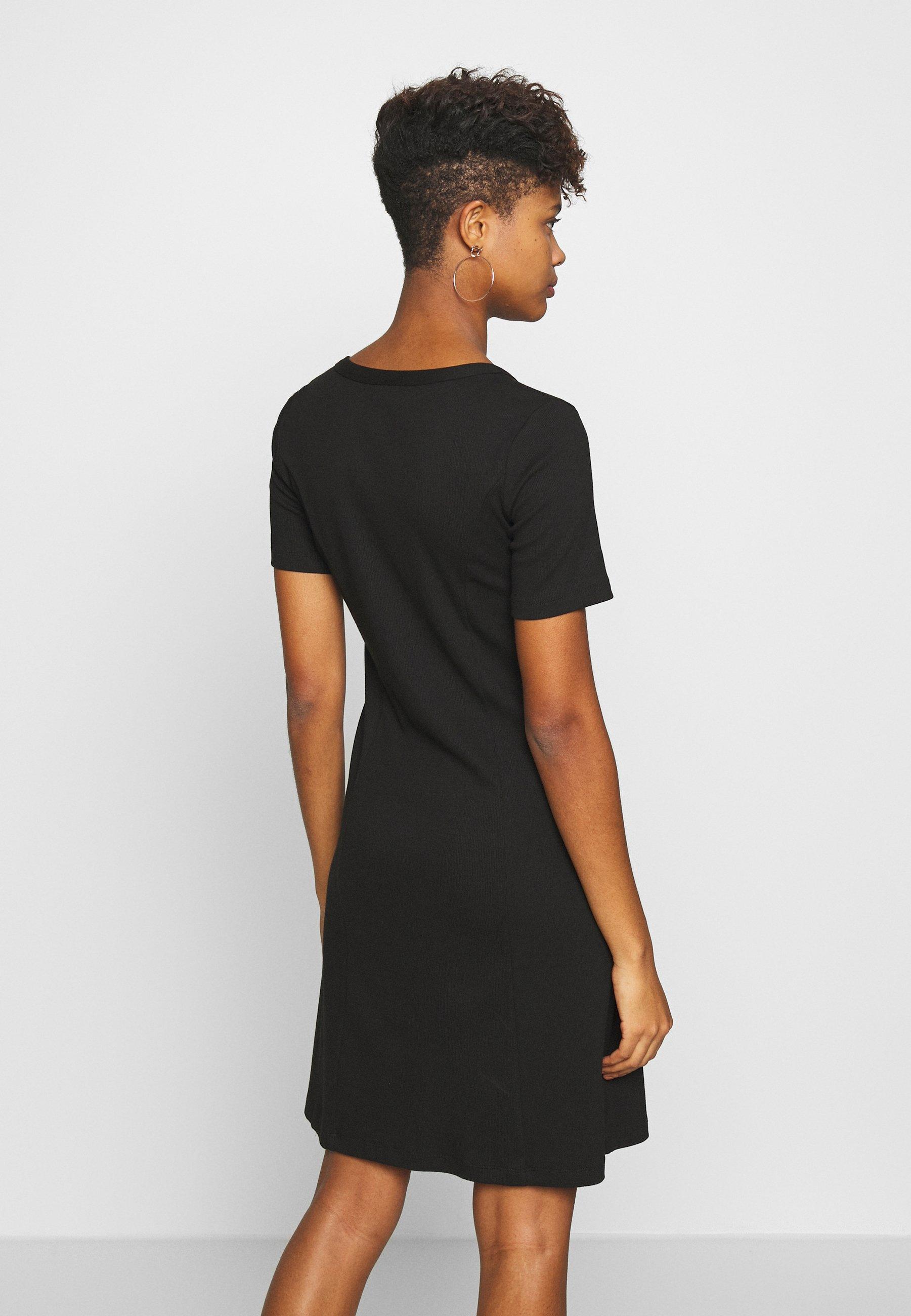 Vila VICONIA DRESS - Jerseykjole - black