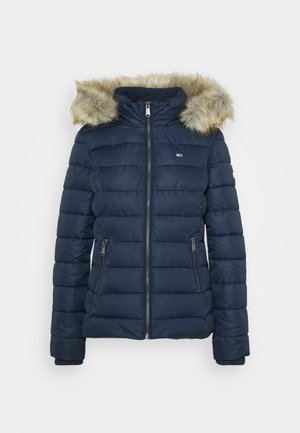 ESSENTIAL HOODED - Zimní bunda - twilight navy