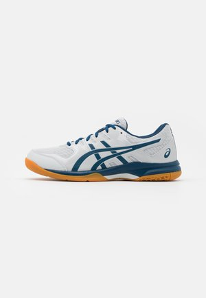 GEL-ROCKET 9 - Volleyball shoes - glacier grey/mako blue